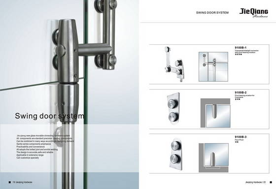 Glass Swing Door Fittings Jieqiang Hardware Factory