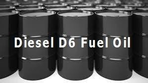 Sell DIESEL D6 VIRGIN LOW POUR FUEL OIL RUSSIAN ORIGIN