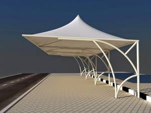 Wholesale car roof tent: Car Park Shades/Tensile Shades