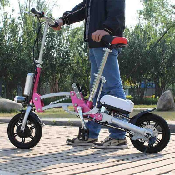 Foldable Electric Bike Foldable Electric Scooter Folded Electric Scooter