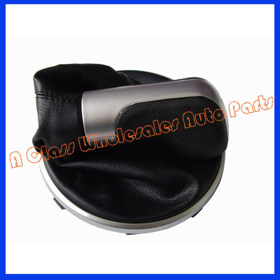 Promotion Car Gear Shift Knobs Giator Leather Boot for Skoda Fabia II 06-10