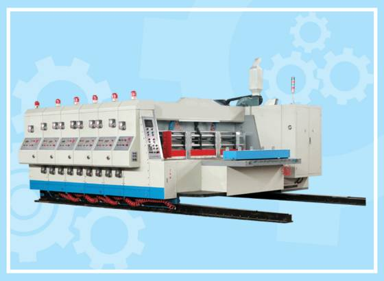 Sell Four Color High Speed Flexo Printing Die Cutting Machine