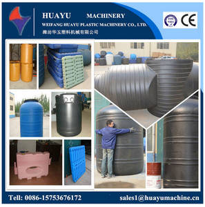 Wholesale waste box: Waste Bin, Road Barrier, Pallet Blow Molding / Moulding Machine, Tool Box ,IBC Making Machine