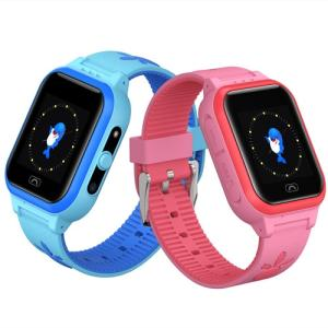 Wholesale sos gsm watch: Kids Smart Watch Waterproof 2G Mircro-SIM Phone Call Contacts with Friends and Parents