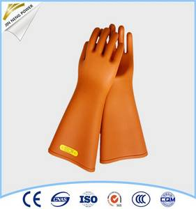 Wholesale leather gloves: 5kv Industrial Leather Hand Gloves