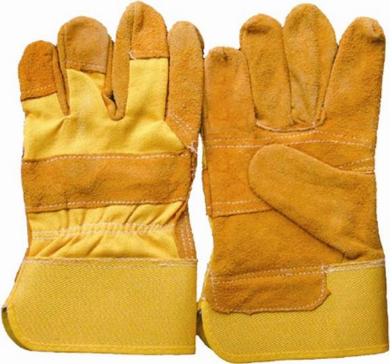 Cow Split Leather Gloves-at Cheap Prices