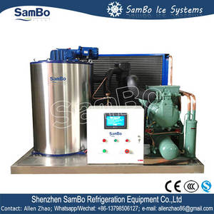 Wholesale sambo: Factory Price Sambo Air Cooled Commerical 3T Flake Ice Making Machine for Sale