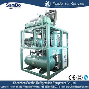 Wholesale philippines: Sambo Factory Price PLC Controlled Bitzer Compressor 10tons Tube Ice Machine Philippines