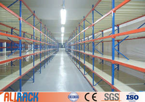 Wholesale span: ALI RACKING Long-span Shelving Medium Duty Racking Warehouse Shelves Storage Shelf