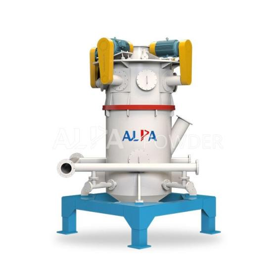 ALPA Ultrafine Dry Grinding Machine Fluidized Bed Air Jet Mill Production Line in China