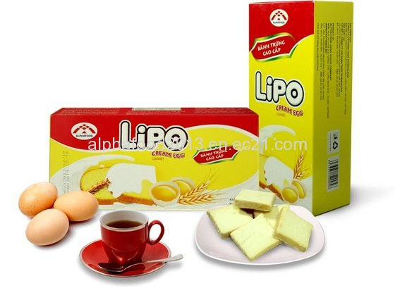 Egg Cream Cookies- Lipo Brand(id:8774931) Product details - View Egg Cream Cookies- Lipo Brand from Alpha International Food Jsc