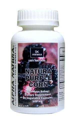 PURPLE CORN (Antioxidant, Protects Against Cardio Disease)
