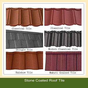 Wholesale stone coated metal roof: Stone Coated Metal Roofing Tile