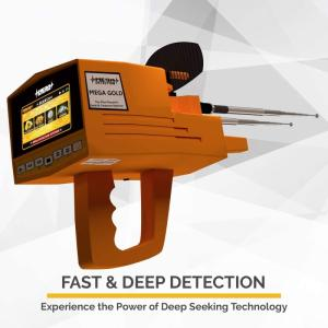 Wholesale gold: Mega Detection Mega Gold 2020 Long Range Gold Finder | Professional Deep Seeking Metal Detector
