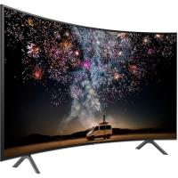 "Samsung RU7300 55"" Class HDR 4K UHD Multisystem Smart Curved LED TV"