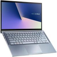 Asus Zenbook 14 UM431DA-AM032TS Ultrabook (Silver Blue) - AMD R5-3500U 2.1 GHz, 8GB RAM, 512GB SSD,