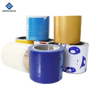 Wholesale automatic metal sheet slitting: Good Quality PE Plastic Transparent Protective Film Roll for PVC Profile