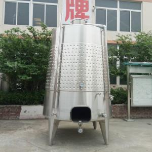 Wholesale cooling equipment: Wine Brewing Equipment Dimple Cooling Jacketed Fermenter