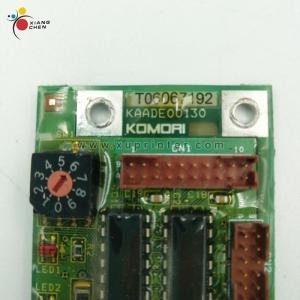 Wholesale Printing Machinery Parts: T06067192 KAADE00130 Komori Board Komori Printing Machines