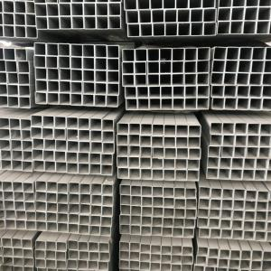 Wholesale square galvanized steel pipe: Welded Galvanized Square Steel Pipe