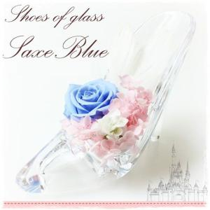 Wholesale christmas crafts: Preserved Flower Glass Footwear Crafts