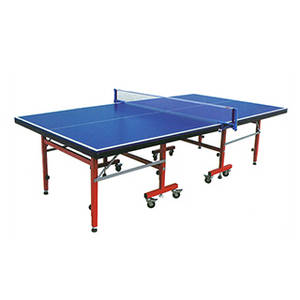 Wholesale Table Tennis: Indoor Folding and Movable Ping Pong Table