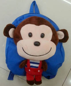 Wholesale School Bags: Kids School Bag Mokey Design Bag