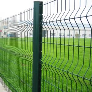 Wholesale pvc coated wire: PVC Powder Spray Coated Welded Wire Mesh Fence Panels