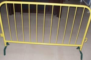 PVC Powder Coated Welded Tubes Temporary Fence Crowd Control Barriers