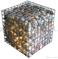 Welded Iron Wire Mesh Gabion Stone Box for Retaining Walls
