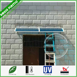 Wholesale awning: Aluminium Roof Balcony Canopy DIY Polycarbonate Plastic Awning/Sunshade for Doors & Windows
