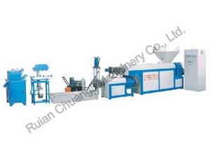Wholesale plastic recycling machine: Water-cooling Type Double-stage PP/PE Plastic Recycling Machine
