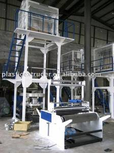 Wholesale film blowing machine: Two-layer Co-extrusion Rotary-die Head Blow Film Machine