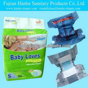 Wholesale brand name: Soft Name Brand Baby Diapers in Bales