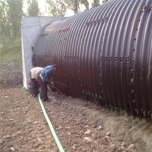 Wholesale Steel Pipes: Corrugated Steel Pipe Used for Drainage Pipe