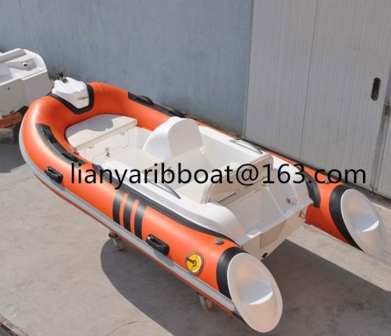Liya Bestselling Rubber Fishing Boat Dinghy Rib 330 Inflatable Boat