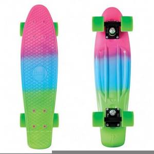 Wholesale Skate Board: Colorful Custom Plastic Deck New Cheap Skateboard Complete