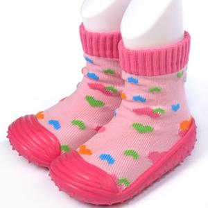 Wholesale infant shoes: Baby Home Indoor Knitting TPE Rubber Soft Sole Infant Shoe Socks