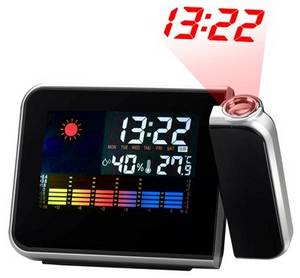 Wholesale Other Clocks: Adjustable Weatherforecast Projection Clock Manufacturers