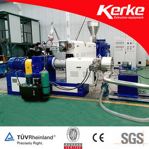 Double Stage Single Screw Extruder for Recycled Plastic