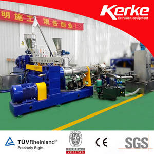 Double Stage Twin Screw Extruder with Water Ring Cutting System