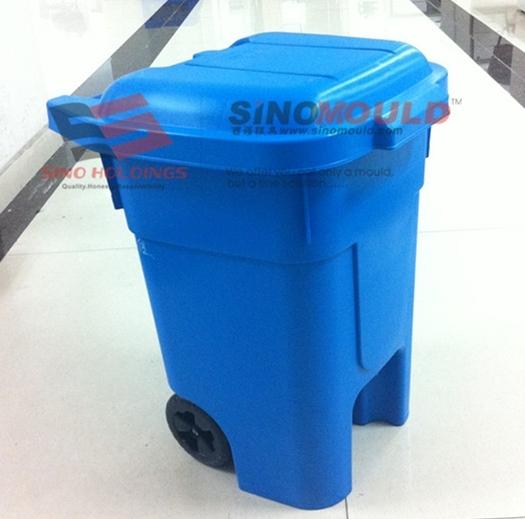 Plastic Industrial Dustbin Mould