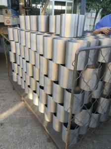 Wholesale rubber rollers: 6 Inch Rice Rubber Roller Cast Iron Drum