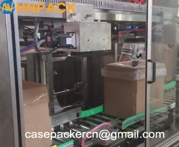 Multifunctional Automatic Carton Box Folding Machine Packing Bag Inserting for Medical Use
