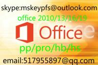 Office 2010 2013 2016 2019 Hb Hs PP Pro for Win Phone 100% Activation Guaranteed