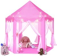 Best Quality Easy Set Up Princess Playhouse Pink Castle Tent for Kids Children