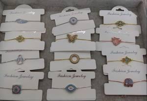 Wholesale Bangles & Bracelets: Bracelets with Cubic Zircon - 4