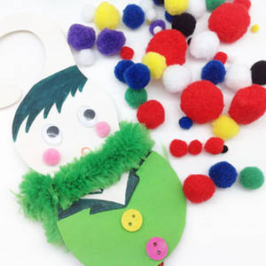 Wholesale craft: Craft Acrylic Pom Poms,
