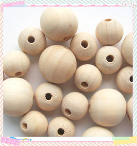 Wholesale crafts: 12mm Natural Craft Wood Bead