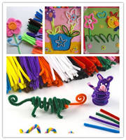 6mm Assorted Craft Chenille Stems
